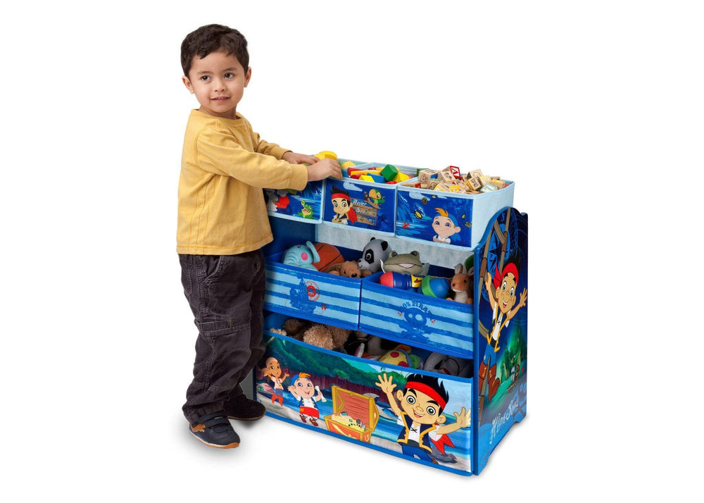 Delta Children Jake and the Neverland Pirates Multi-Bin Toy Organizer Detail a3a