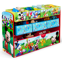 Mickey Mouse Deluxe Multi-Bin Toy Organizer