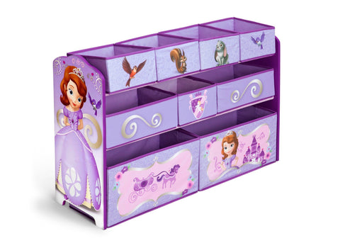 Sofia the First Deluxe Multi-Bin Toy Organizer