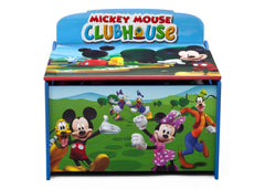 Delta Children Mickey Deluxe Toy Box Front View a3a