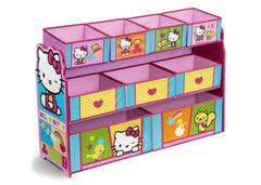 Delta Children Hello Kitty Deluxe Multi-Bin Toy Organizer Right Side View a1a