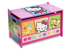 Delta Children Hello Kitty Toy Box Right View a1a
