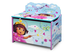 Delta Children Dora Deluxe Toy Box Left Side View a3a