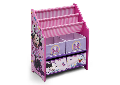Minnie Mouse Book & Toy Organizer
