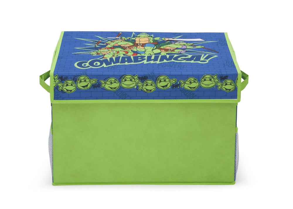 Delta Children Teenage Mutant Ninja Turtles Fabric Toy Box, Front View