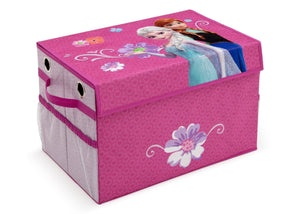 Delta Children Frozen Fabric Toy Box Right Side View a1a