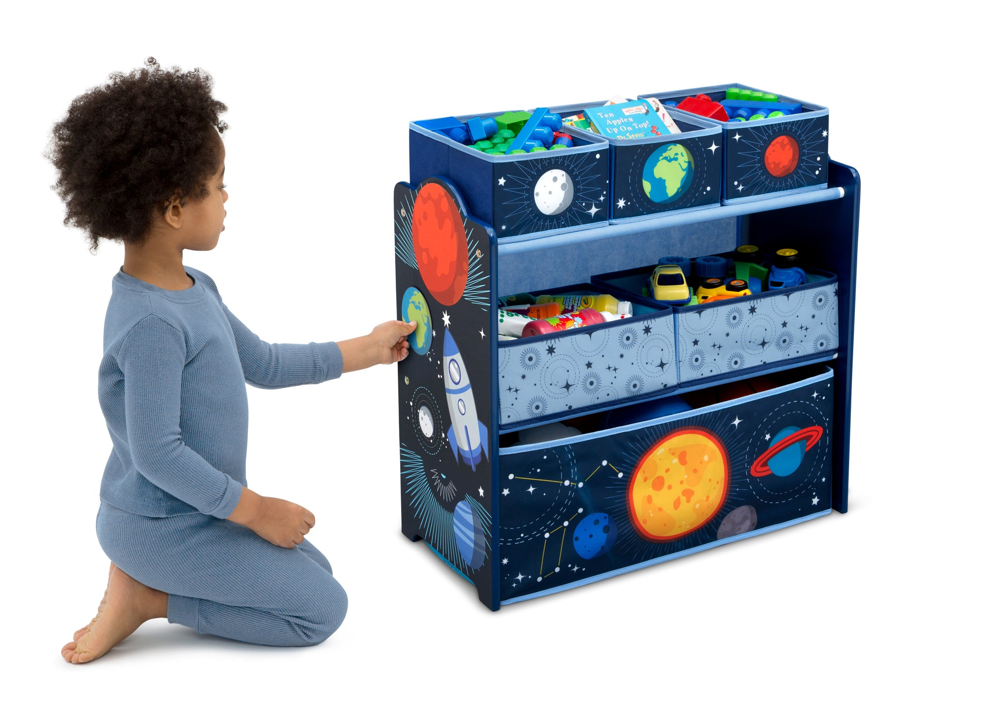 Delta Children Space Adventures (1223) Design and Store Toy Organizer, Model View