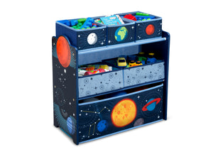 Delta Children Space Adventures (1223) Design and Store Toy Organizer, Right Silo View