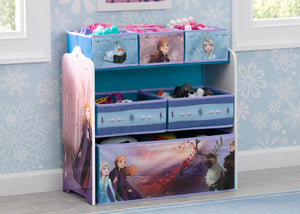 Delta Children Frozen II Multi-Bin Toy Organizer, Hangtag View Frozen(1098)