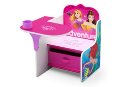 Delta Children Princess Chair Desk with Storage Bin Style-1, Left View a2a
