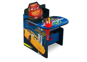 Delta Children Cars (1014) Chair Desk with Storage Bin, Right Angle, a1a Disney Cars (1014)