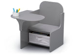 Delta Children MySize Chair Desk Grey (026) Left Silo View
