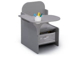 Delta Children MySize Chair Desk Grey (026) Right Silo View