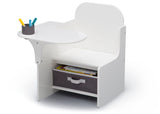Delta Children MySize Chair Desk Bianca (130) Left Silo View