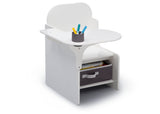 Delta Children MySize Chair Desk Bianca (130) Right Silo View