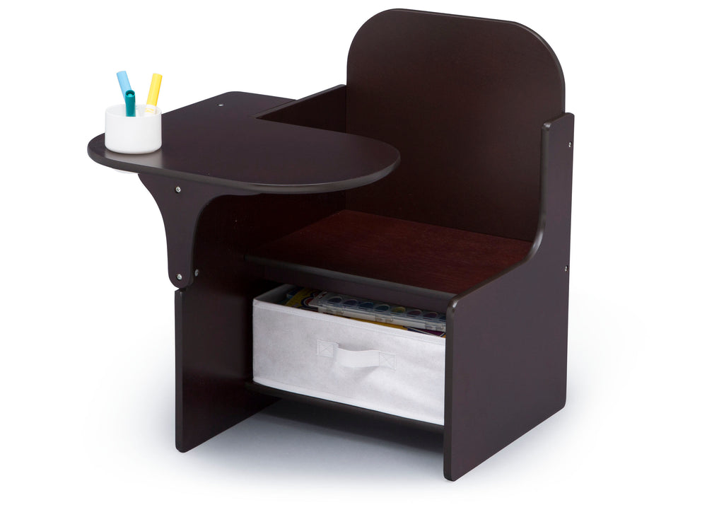 Delta Children MySize Chair Desk Dark Chocolate (207) Left Silo View