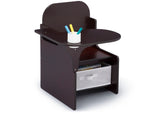 Delta Children MySize Chair Desk Dark Chocolate (207) Right Silo View