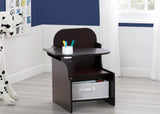 Delta Children MySize Chair Desk Dark Chocolate (207) Hangtag View
