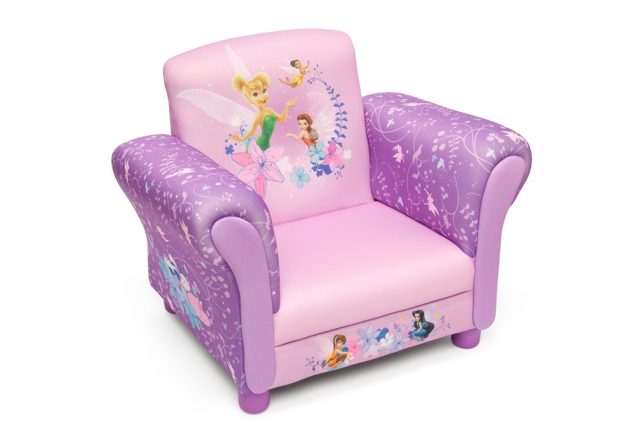 Delta Children Style 1 Fairies Upholstered Chair--OLD, Right View a1a