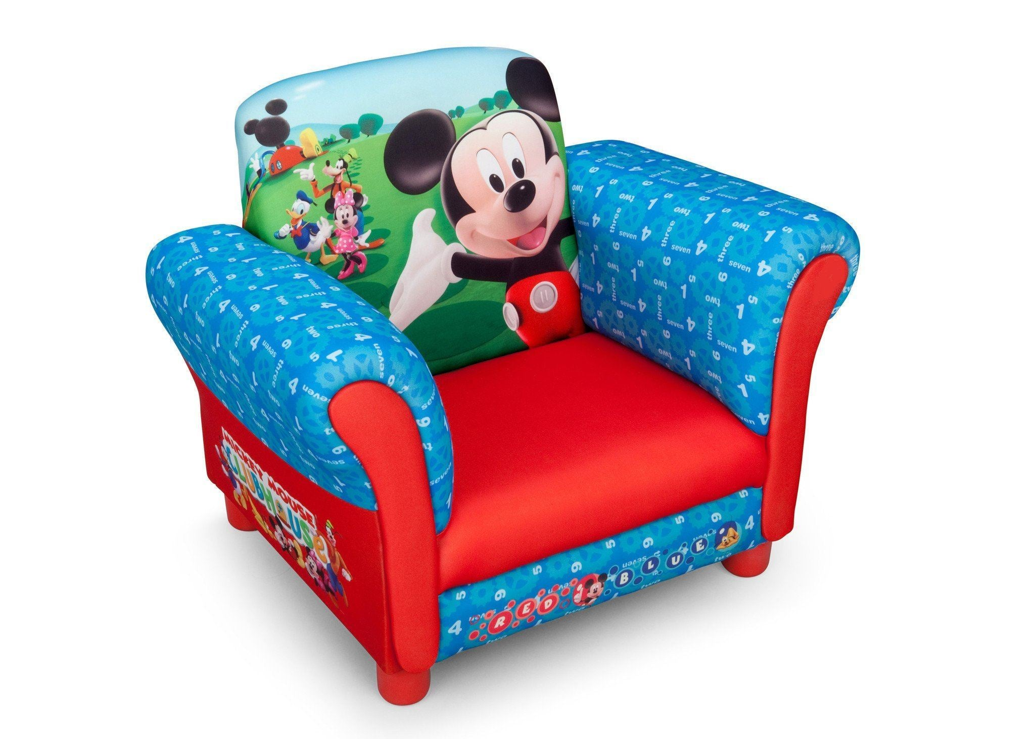 Delta Children Mickey Mouse Upholstered Chair EU+US, Right View Style 1 ...