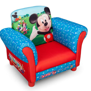 Delta Children Mickey Mouse Upholstered Chair-EU+US, Right View Style-1 a1a