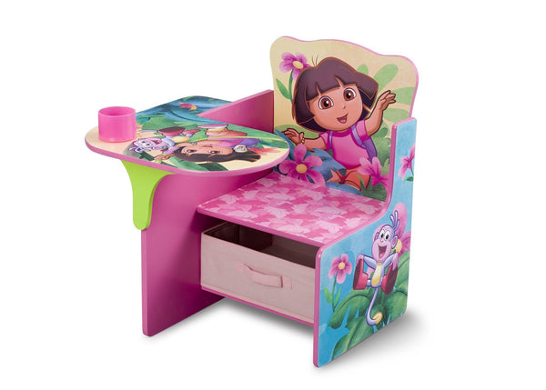dora chair desk with storage bin delta children rh deltachildren com doro charger dora charm bracelet