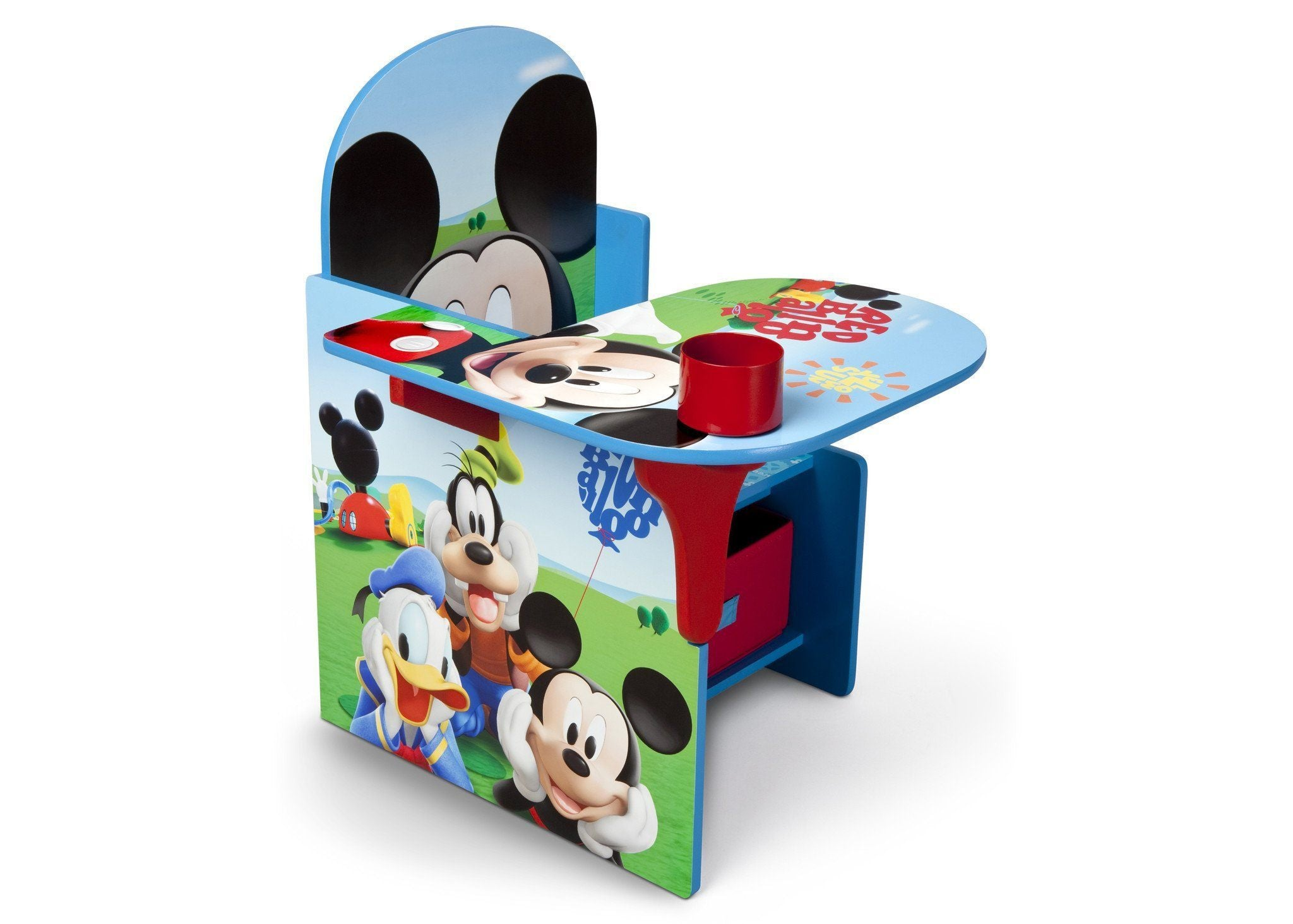 Bon Delta Children Mickey Mouse Chair Desk With Storage Bin Right Side View A1a  ...