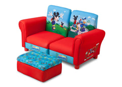 Delta Children Mickey Mouse 3 Piece Upholstered Chair Style-1 Left View a2a