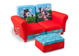 Delta Children Mickey Mouse 3 Piece Upholstered Chair Style-1 Right View a1a