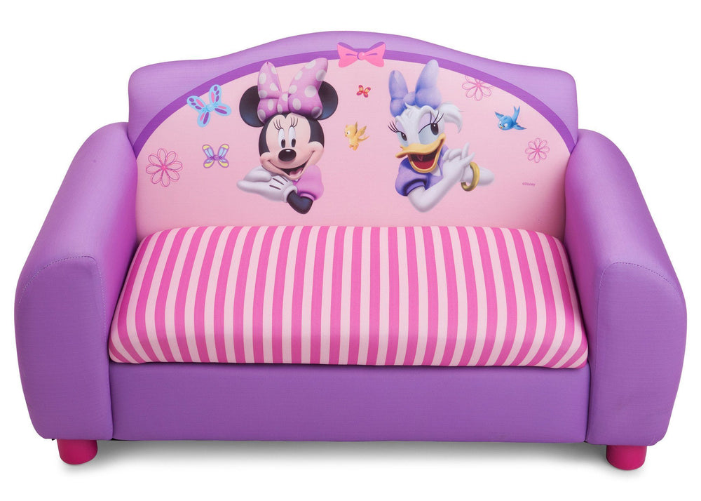 Astounding Disney Minnie Mouse Sofa With Storage Delta Children Machost Co Dining Chair Design Ideas Machostcouk