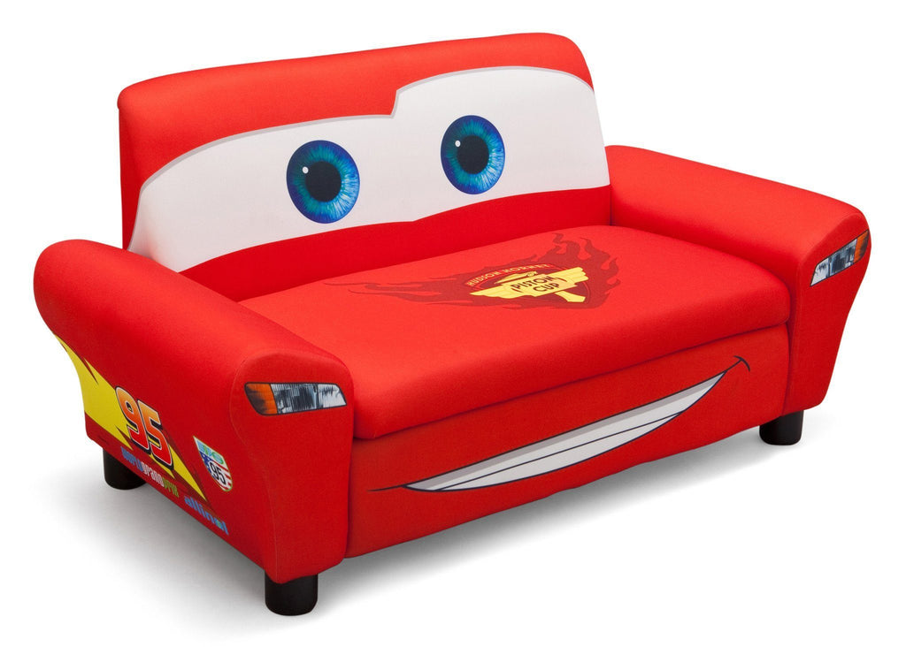 Delta Children Cars Upholstered Sofa With Storage Right Side View A1a
