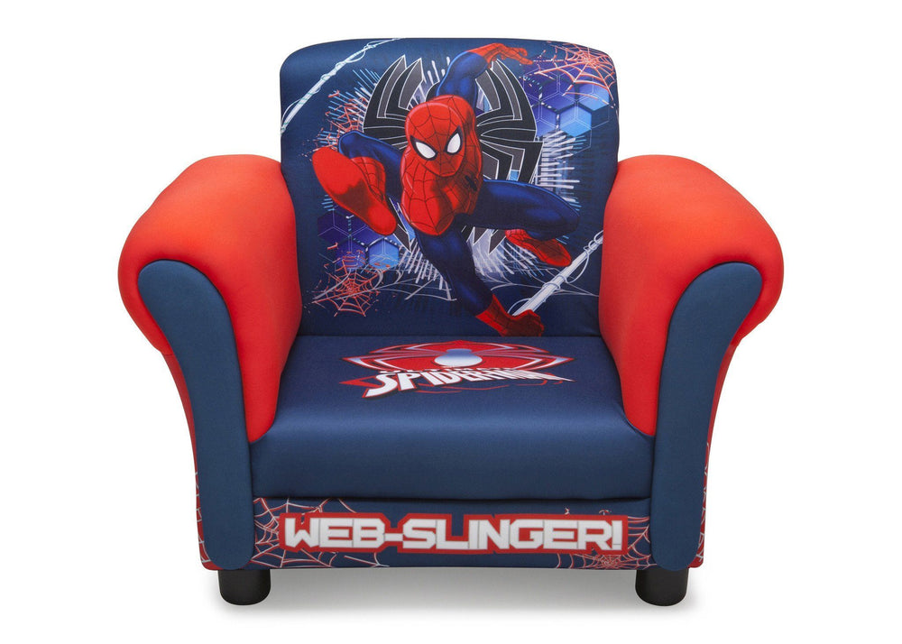 Delta Children Spider-Man Upholstered Chair, Front View