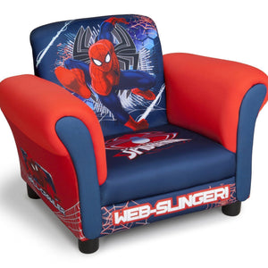 Delta Children Spider-Man Upholstered Chair, Right View a1a