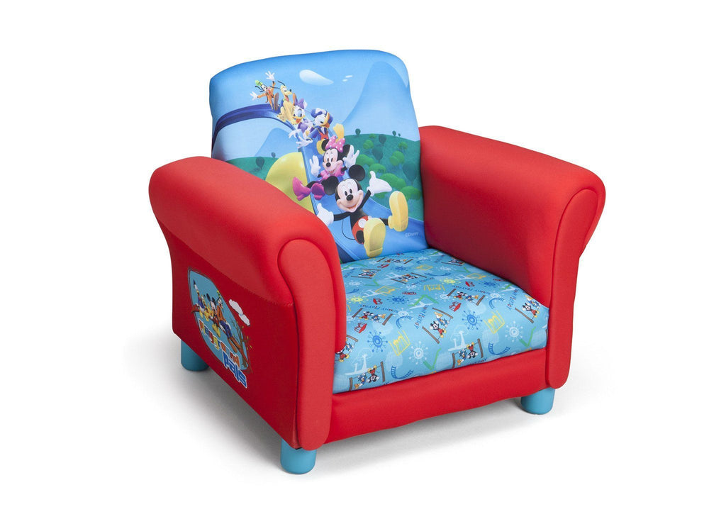 Bon Delta Children Style 1 Mickey Mouse Upholstered Chair, Right Side View A1a