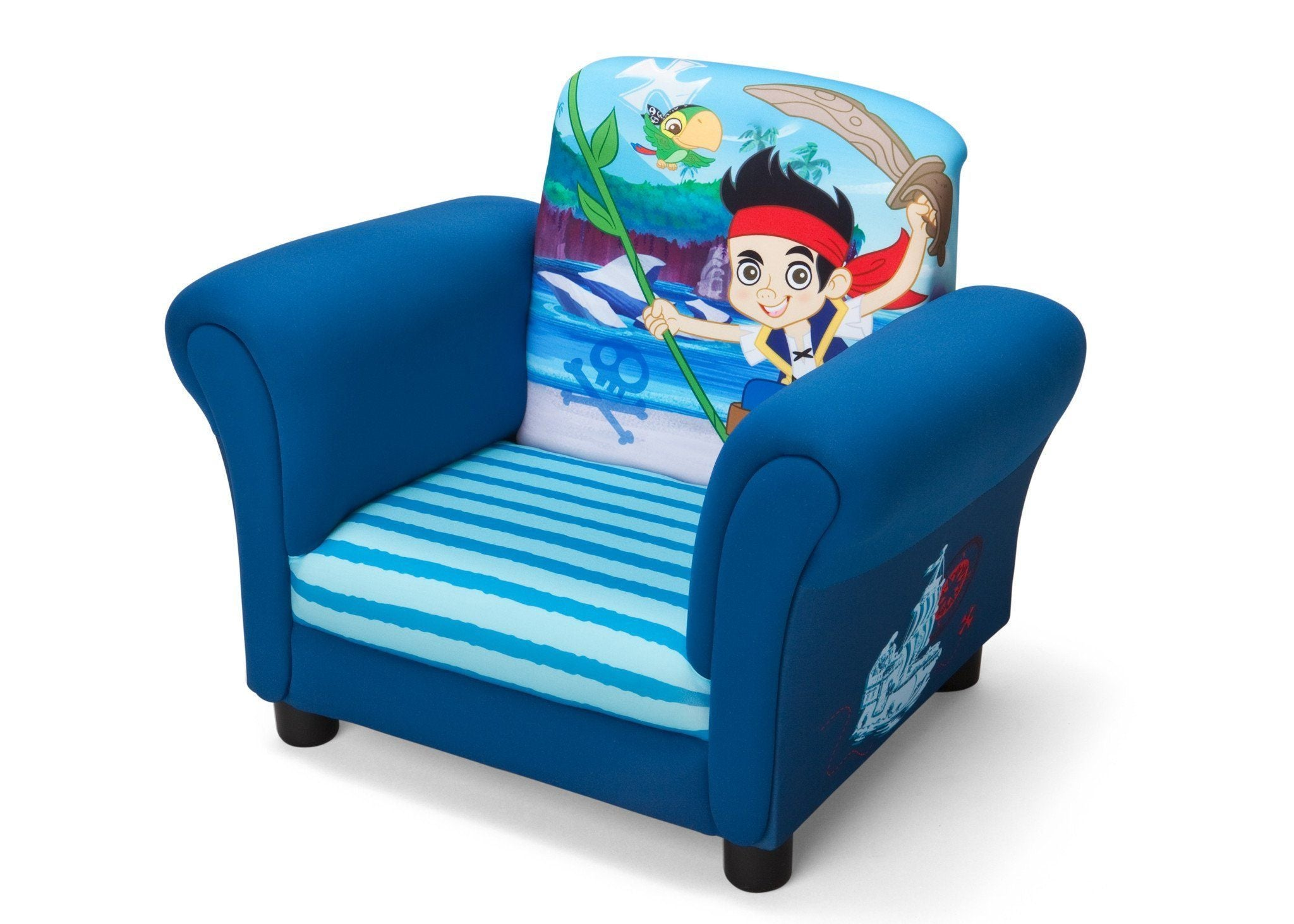 Attirant ... Delta Children Style 1 Jake And The Neverland Pirates Upholstered  Recliner Chair, Left View A2a