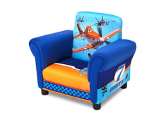 Delta Children Style 1 Planes Upholstered Chair, Left View a2a