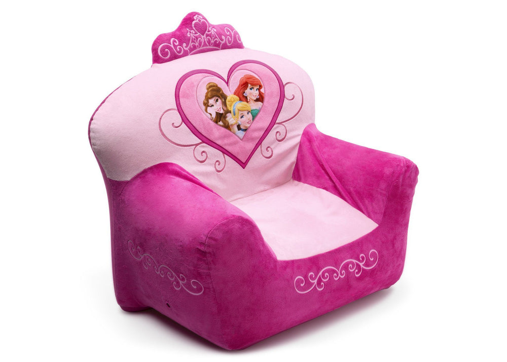 Delta Children Disney Princess Club Chair Right Side View a1a