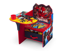 Delta Children Spider-Man Chair Desk, Left View a3a Style-1 (1163) Spider-Man (1163)