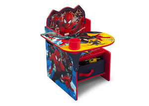 Delta Children Spider-Man Chair Desk, Right View a2a Style-1 (1163) Spider-Man (1163)