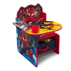 Delta Children Spider-Man Chair Desk, Right View a2a Style-1 (1163)