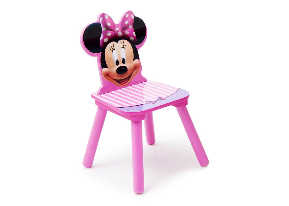 Delta Children Disney Minnie Mouse Single Chair Right Side View a1a