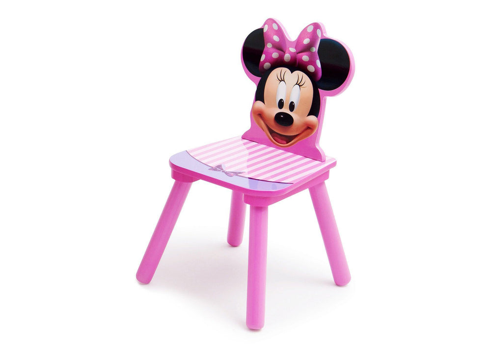 Delta Children Disney Minnie Mouse Single Chair Left Side View a2a