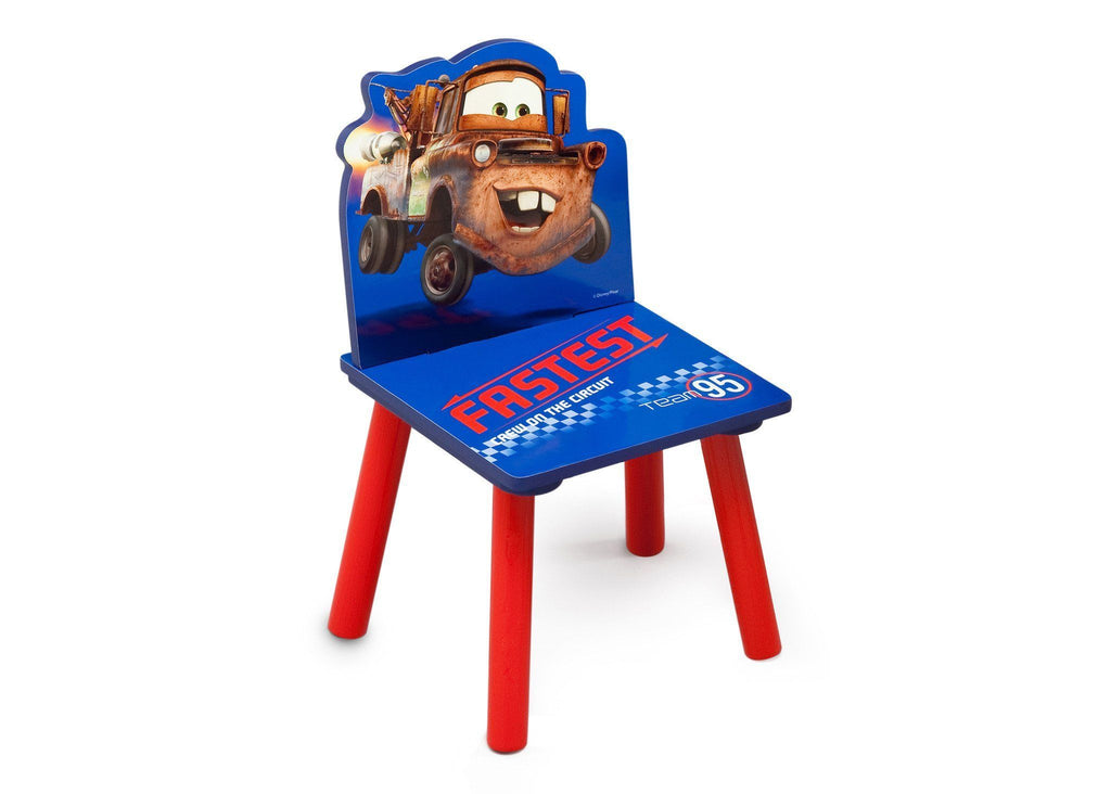 Delta Children Disney/Pixar Tow Mater Single Chair Right Side View a1a
