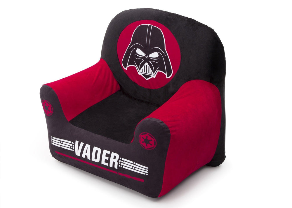 Delta Children Star Wars Club Chair, Darth Vader, Left View a3a