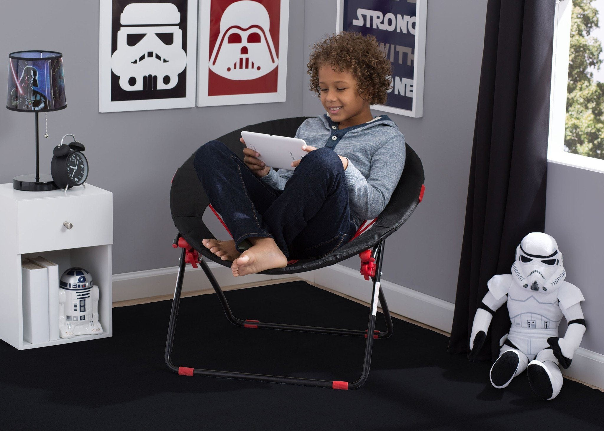 ... Delta Children Star Wars Teen Bungee Chair, Hangtag With Model A4a