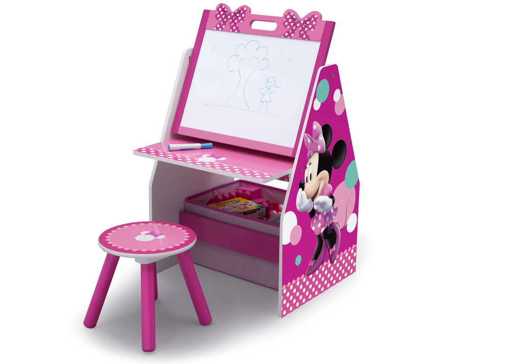 Minnie Mouse Activity Center Easel Desk With Stool Amp Toy