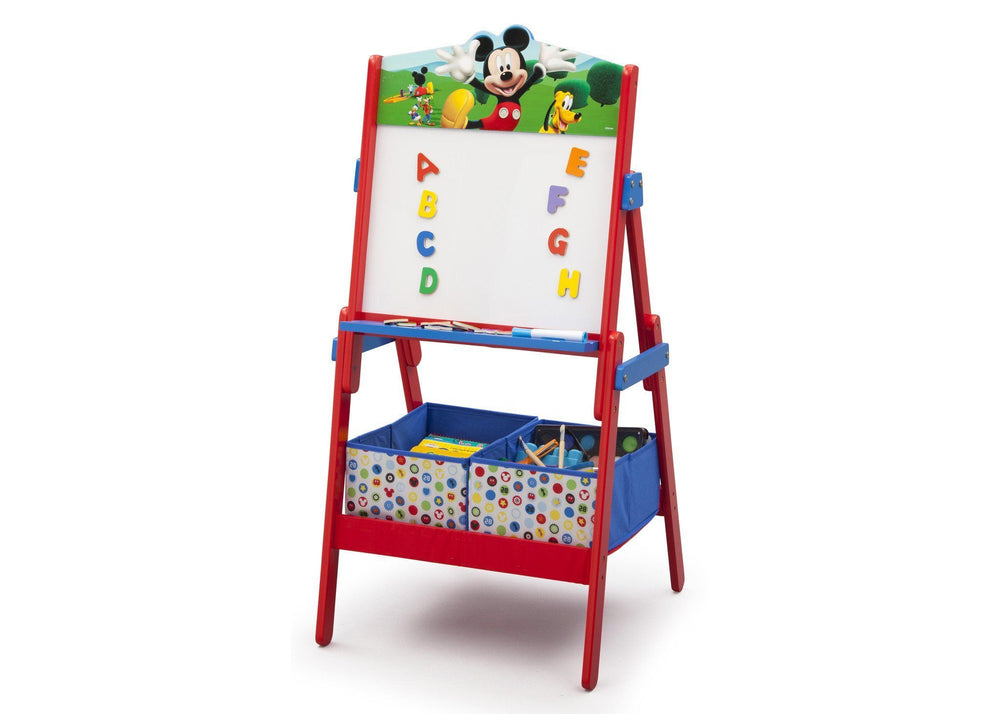 Delta Children Mickey Mouse Activity Easel, Left View a3a