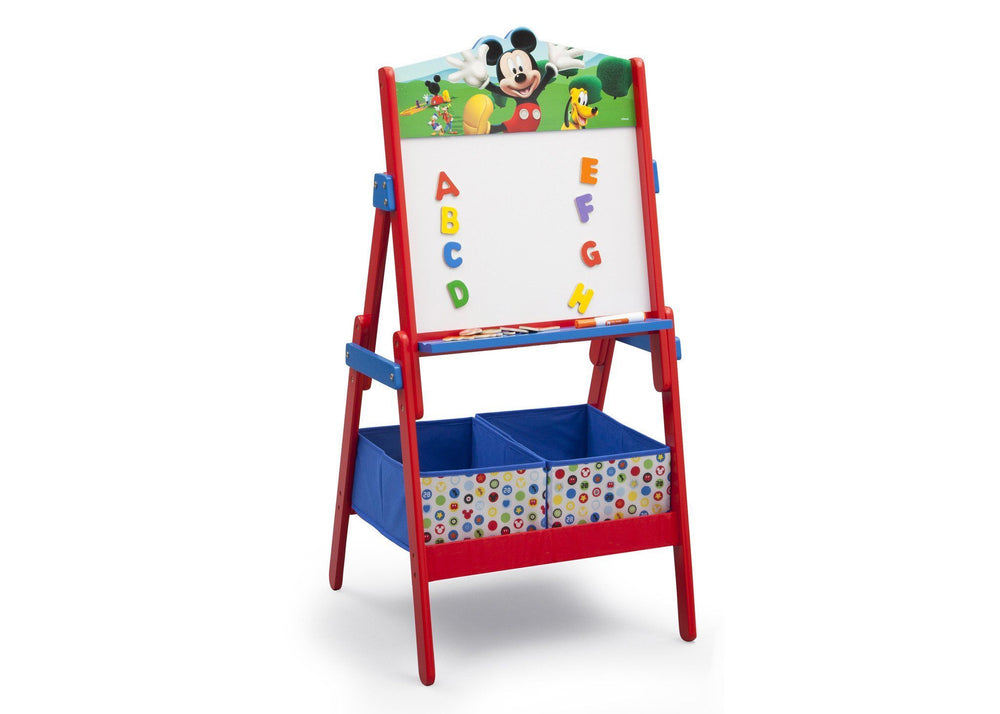 Delta Children Mickey Mouse Activity Easel, Right View a2a