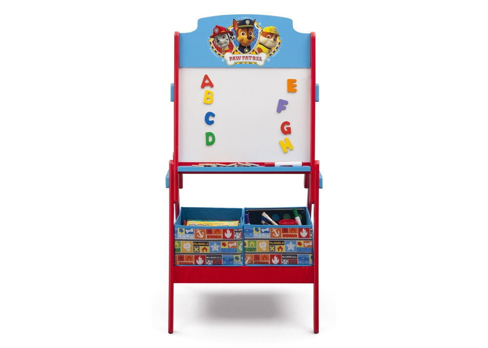 Delta Children PAW Patrol Activity Easel, Front View with Props