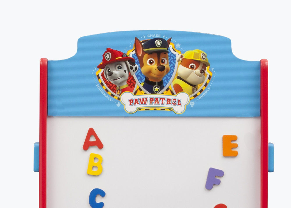 Delta Children PAW Patrol Activity Easel, Detail View